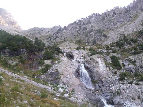 La cascade du Barranco del Arriel