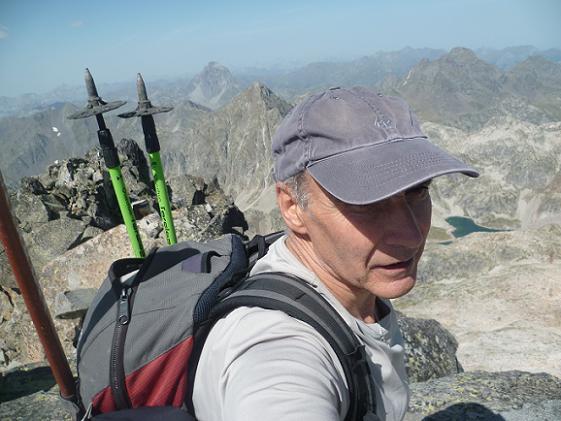 Arrivée au sommet de la Frondella Occidental 3001 m