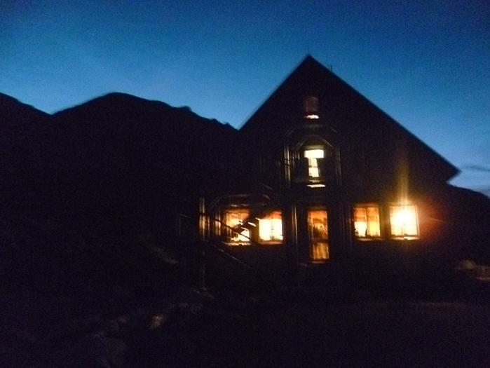 Le refuge du Portillon ou Jean Arlaud (2571 m), où nous passerons la nuit