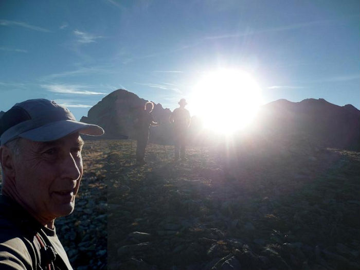 Au sommet de la Tusse de Montarqué (2889 m)