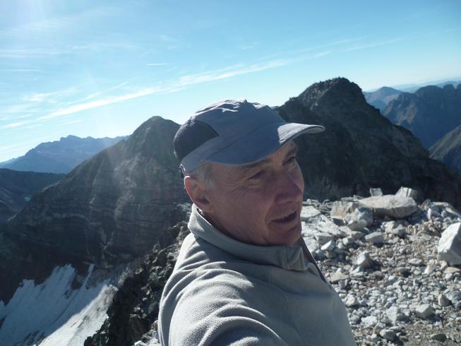 Arrivée au sommet du Cap Dera Baquo Occidental (3097 m)