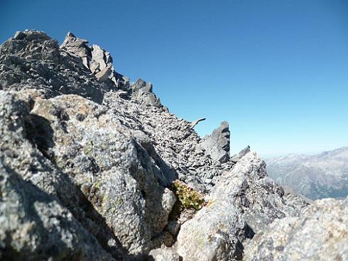 Du col coté 3250, le pico Abadias