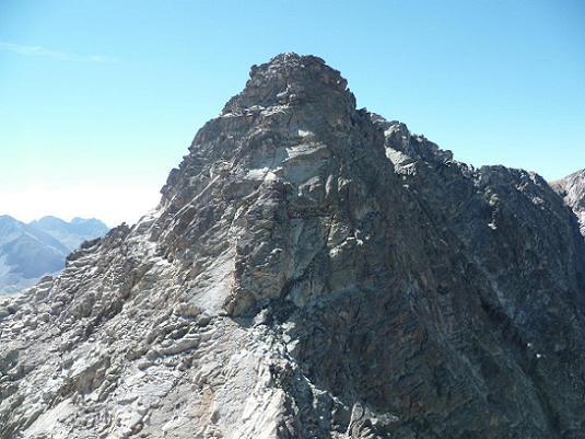 Du sommet de la Aguja Cadier 3022 m, la Frondella Norte prochain objectif