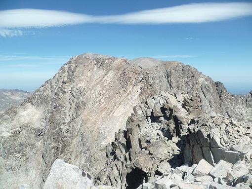 Du sommet du pico de la Frondella 3071 m, Le Balatous et la Frondella Norte