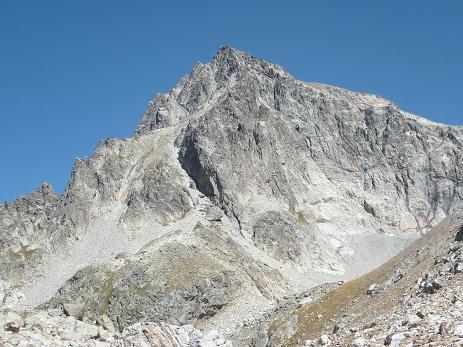 Du Cuello Wallon 2508 m, le Balatous et la Grande Diagonale