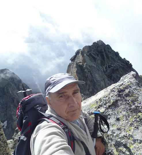 Grand Quayrat depuis le sommet du Grand Quayrat Nord (3046 m)