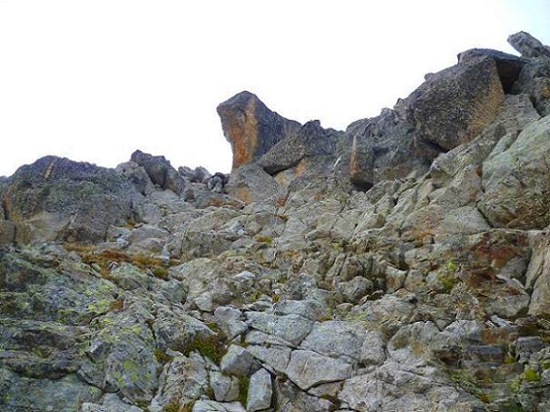 Remontée vers le sommet du Grand Quayrat