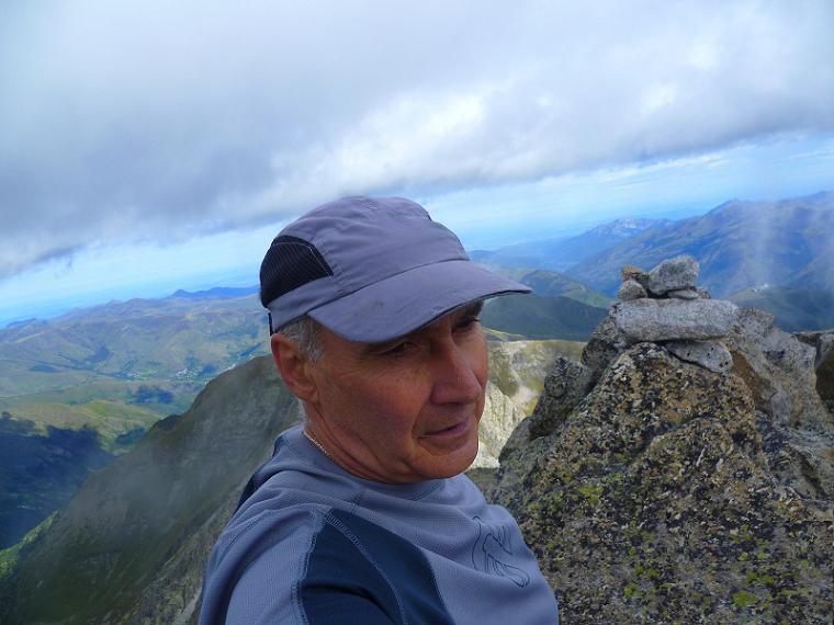 Au sommet du Grand Quayrat (3060 m)