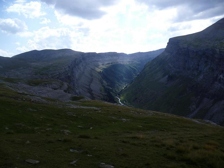 Retour au-dessus du canyon de Ordesa