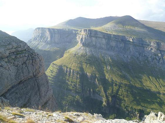 Retour sur la Fajeta de Ciarracils, au-dessus du canyon de Ordesa