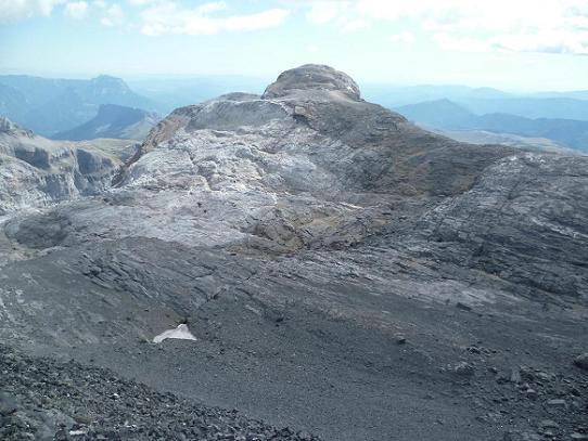 Du sommet du pico Baudrimont S E ou pico Navarro 3026 m, la Punta de las Olas