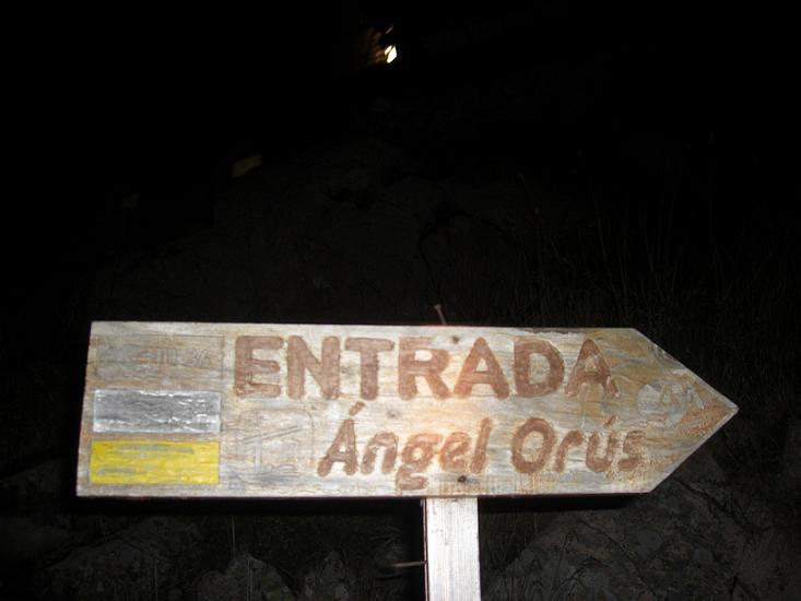 Passage au refugio Angel Orus 2100 mètres, il est 7 heures