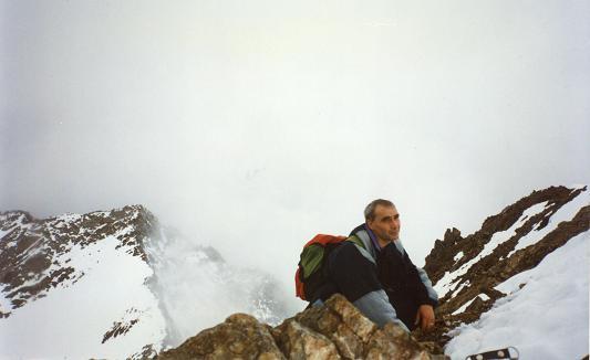 Du sommet du pico de Garmo Negro, les picos de Algas