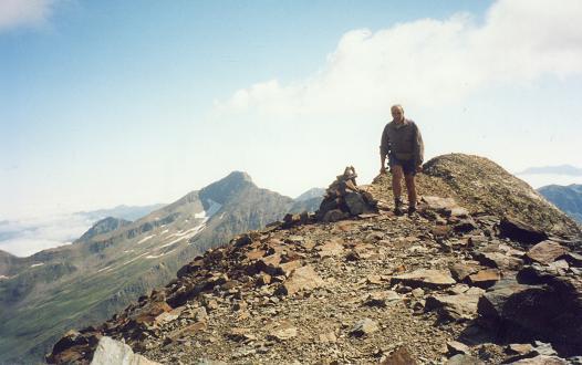 Du sommet du pic de Batoua, les Culfreda et le pic de Lustou