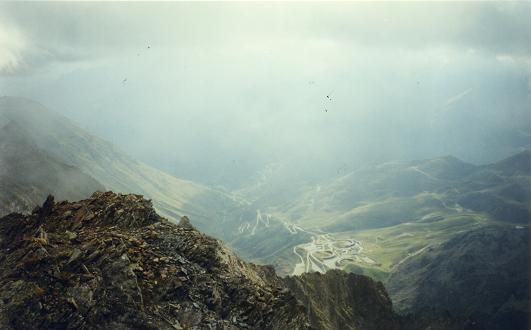 Du sommet du pic d Estaragne, Piau-Engaly