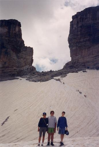 La Brèche de Roland et son glacier