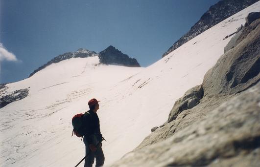 le pico de Aneto toit des Pyrénées