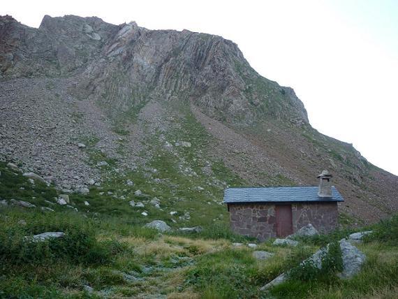Passage près de la cabana del Botornas 2343 m