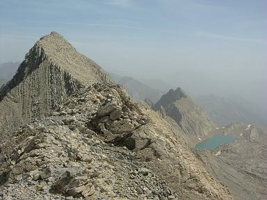 Du sommet du Petit Astazou, le Grand Astazou