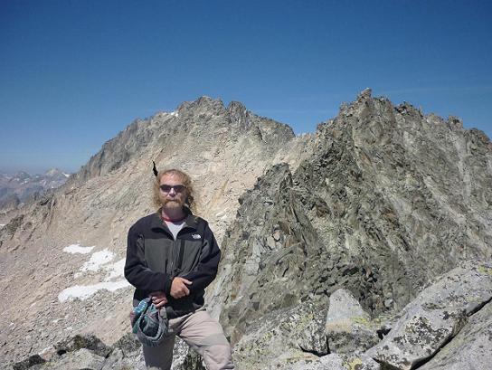 Du sommet de la Punta de la Brecha Russell 3192 m, Margalide et Aneto
