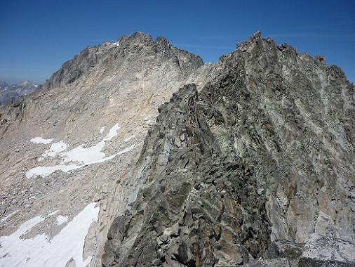 Du sommet de la Punta de la Brecha Russel 3192 m, Margalide et Aneto
