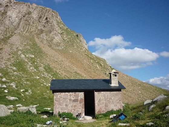 Repassage à la cabana del Botornas 2343 m