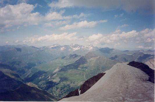 Du sommet du Taillon, Pimené, Néouvielle et Pic Long
