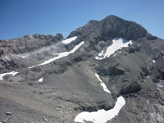 La face Nord-Ouest du Monte Perdido