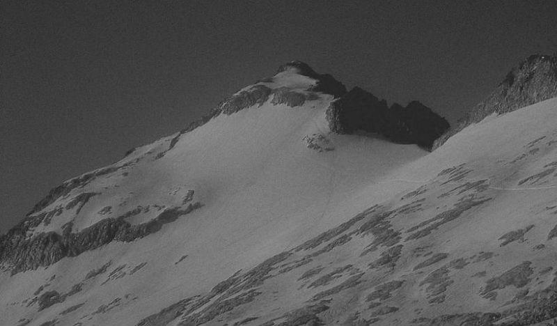 Progression vers le pico de Aneto, seigneur des Pyrénées