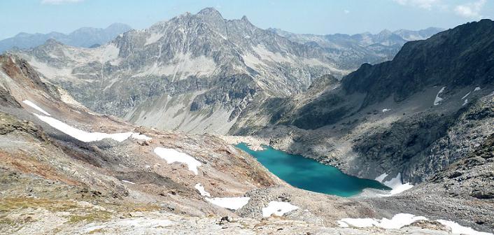 Descente vers le lac Tourrat