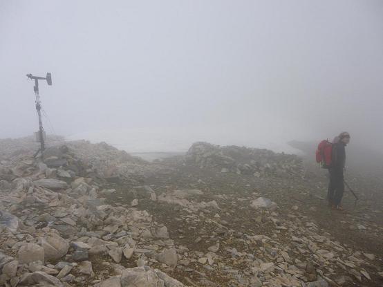 Passage au col de Cerbillona (3195 m)