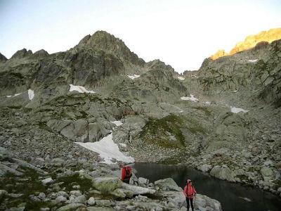 Du lac inférieur de Micoulaou, montée vers le lac supérieur