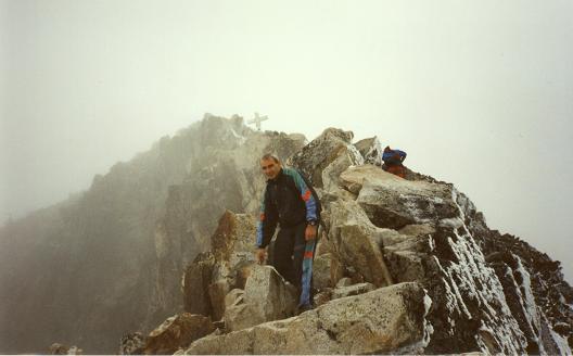 Sommet du pico de Aneto et le Pas de Mahomet ou Puente de Mahoma