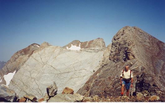 Du sommet du Grand pic de Tapou, Montferrat et Vignemale