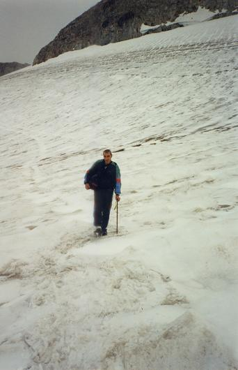 Sur le glaciar de Aneto