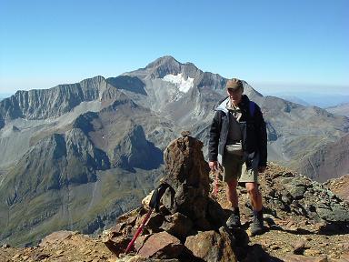 Du sommet du pic de Clarabide, le Posets