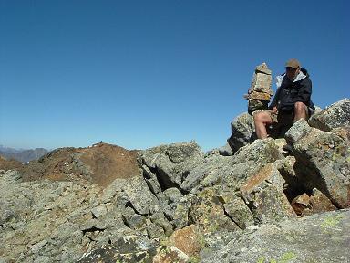 Du sommet du pico de Gias, le pic de Clarabide