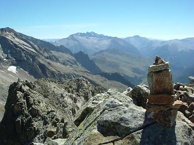 Du sommet du pico de Gias, le massif Aneto Maladeta