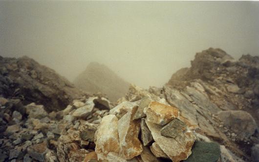 Du sommet du Petit Vignemale, la crête