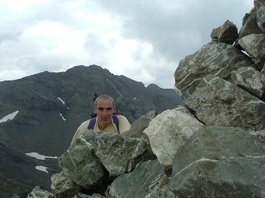 Du sommet du pico de la Robinera ou Louseras, le pic de la Munia