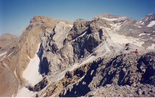 De la Tour du Marboré, Marboré et Monte Perdido