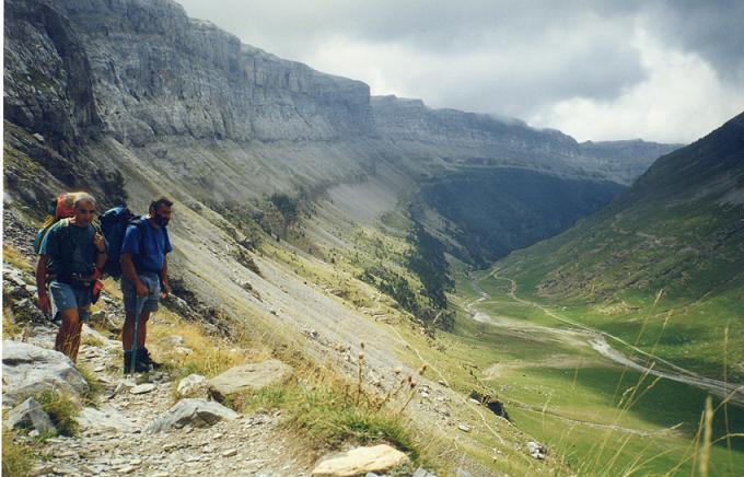 La vallée de Ordesa que nous venons de traverser