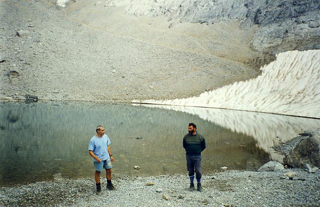 Passage avec halte au Pequeno Lago Helado 2980 m