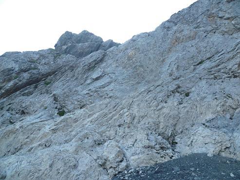 Le Passage du Mur Blanc le Passet 2654 m