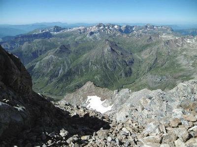 Passage au col de Lady Lyster (3200 m), la Tendeera