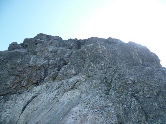 Le Pas du Chat ou Paso del Gato 2995 m