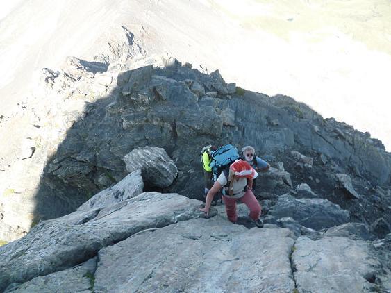 Escalade du Pas du Chat 2995 m