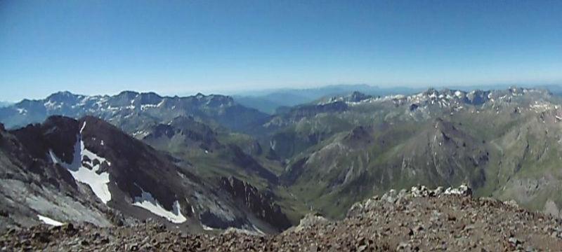 Du sommet du pic de Cerbillona (3247 m), Monte Perdido