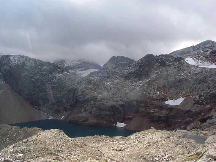Col 2760 m. au Nord-Ouest du lac Glacé ou lac du Port d'Oô