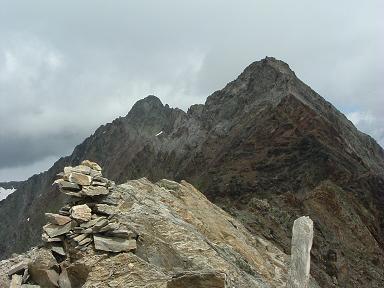 Du sommet du pic Maou, pic Badet et Pic Long